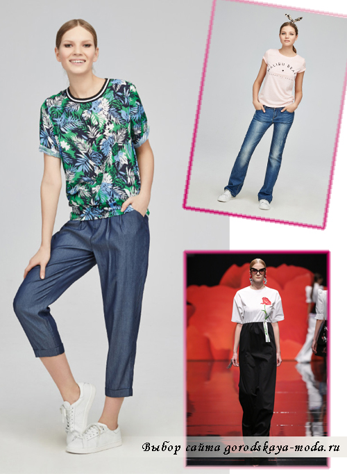 Миниатюра к статье Модные джинсы весна-лето 2015