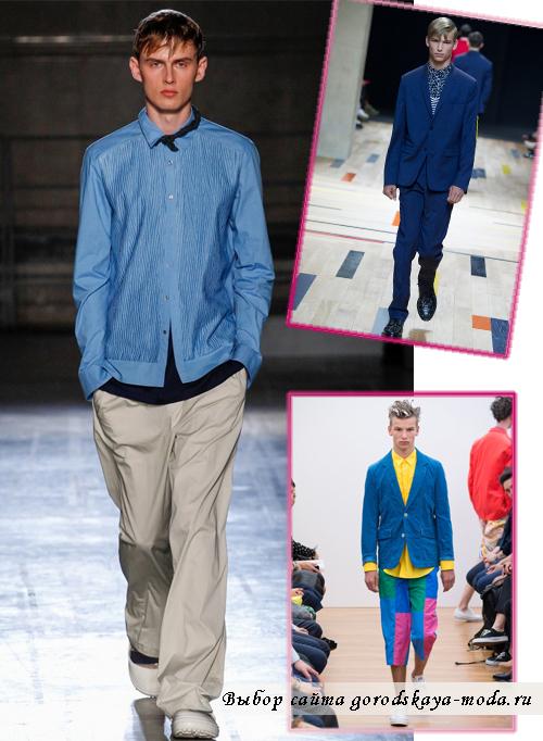 Миниатюра к статье Мужская мода весна-лето 2015