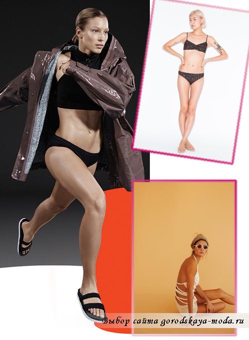 Модные раздельные купальники лето 2015