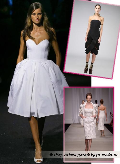 Миниатюра к статье Модные платья весна-лето 2015