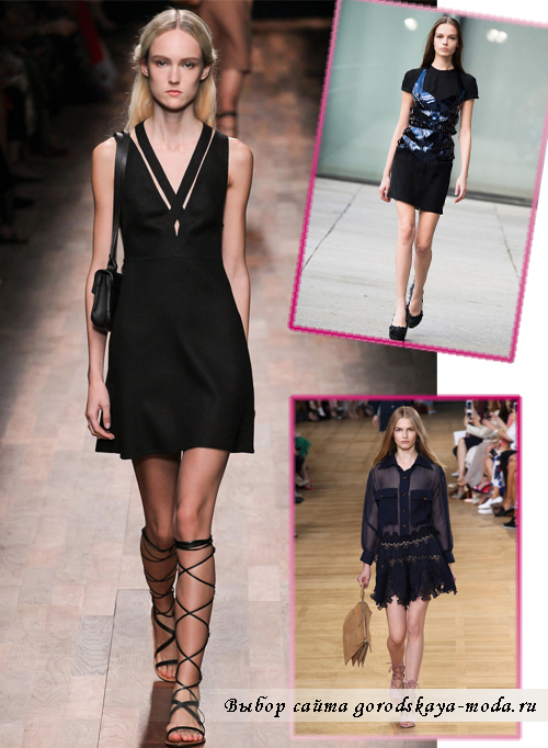 маленькое чёрное платье на выпускной 2015