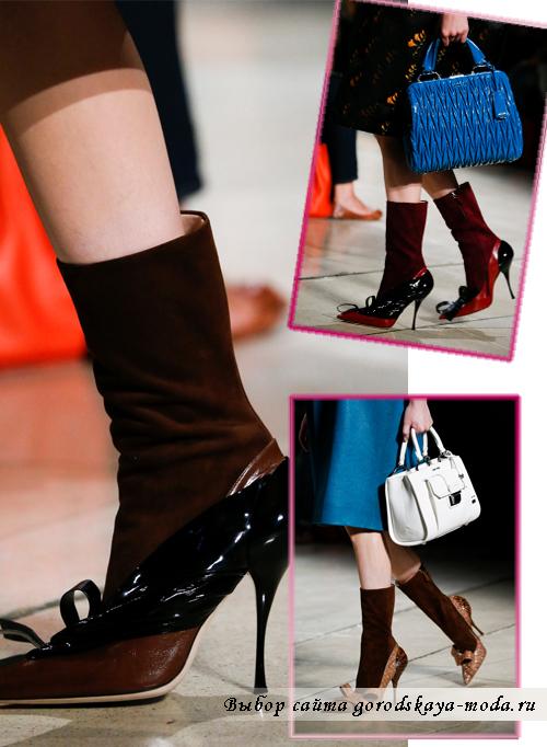 Модные ботинки весна-лето 2015