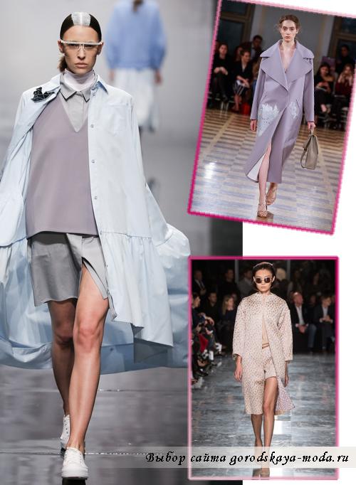 Миниатюра к статье Модные женские пальто весна 2015