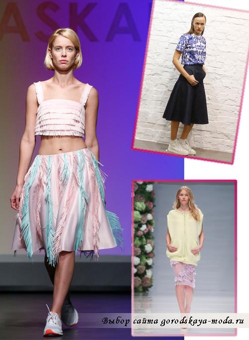 Миниатюра к статье Модные юбки весна-лето 2015