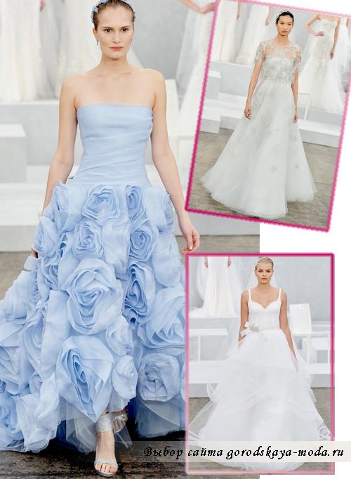 Monique-Lhuillier свадебные платья 2015