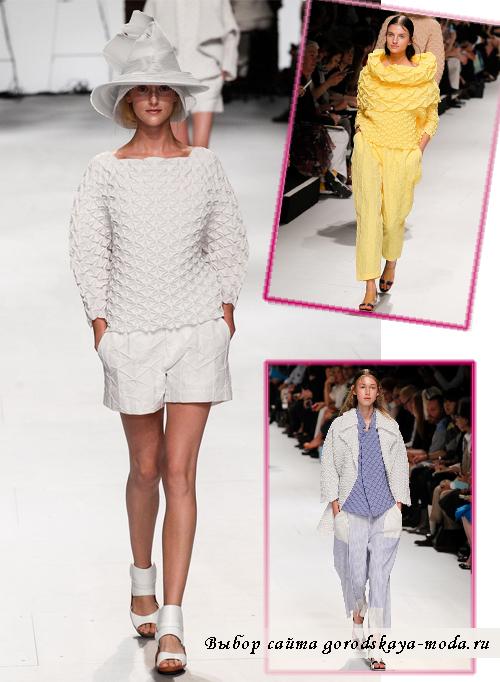 Миниатюра к статье Кофты и свитеры весна-лето 2015