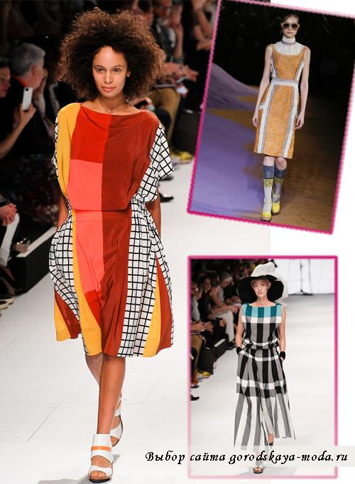 Модные длинные сарафаны с пинтами лето 2015