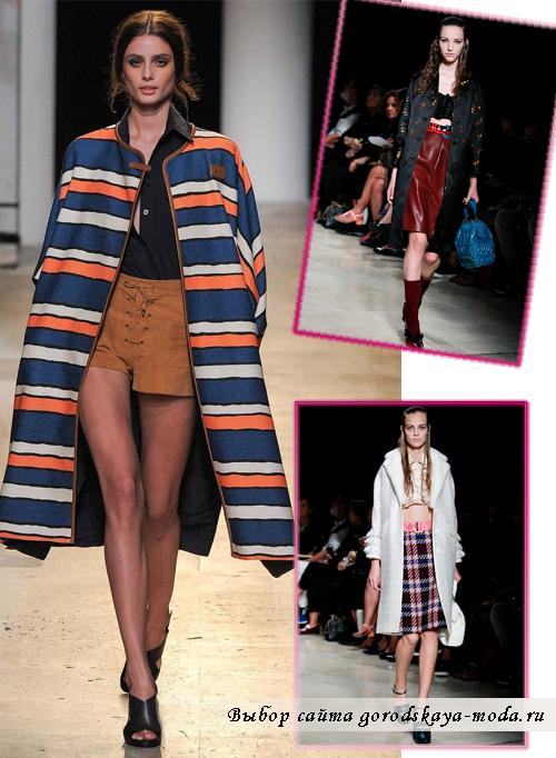 Модные пальто для женщин на весну 2015