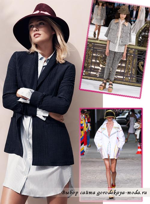 Миниатюра к статье Модные куртки весна-лето 2015