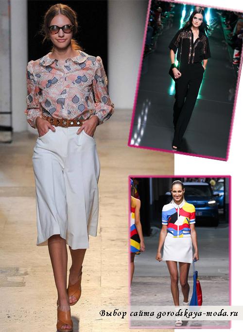Модные Блузки Лето 2017 Фото