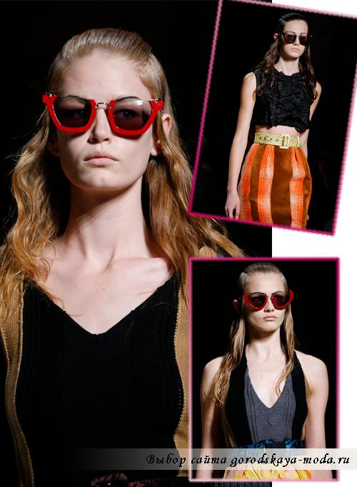 солнцезащитные очки весна-лето 2015 от Miu-Miu