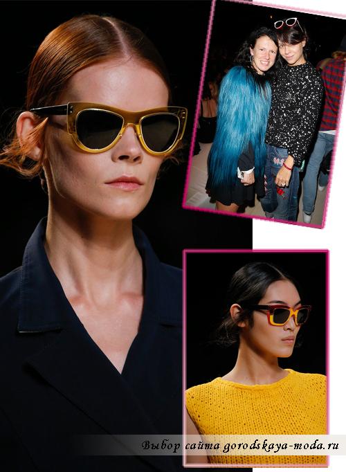 солнцезащитные очки весна-лето 2015 от Nina-Ricci
