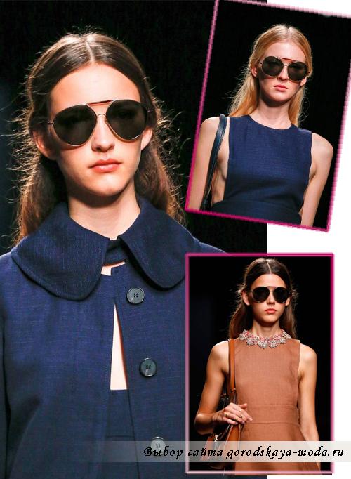 Миниатюра к статье Модные солнцезащитные очки весна-лето 2015