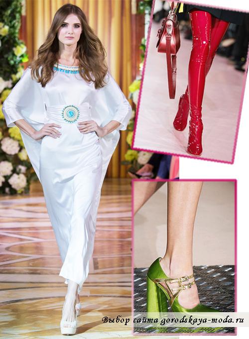 Миниатюра к статье Модная обувь осень-зима 2015-2016