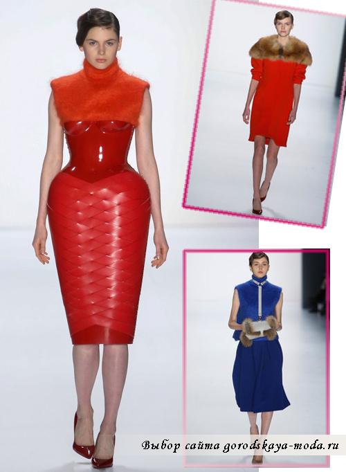 Миниатюра к статье Модные платья на Новый год 2016