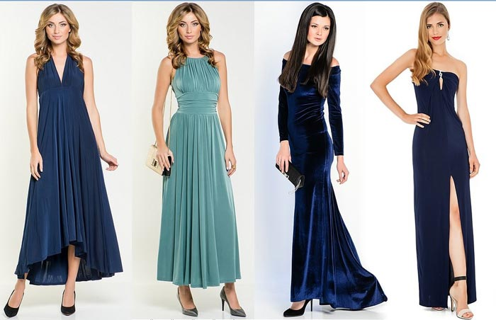 Фото стильных платьев для нового года