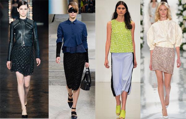 Миниатюра к статье Модные юбки весна-лето 2016