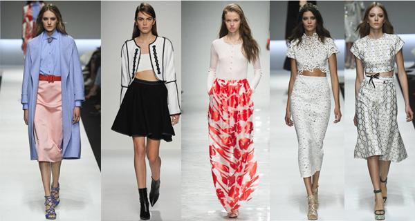Женские юбки 2016 модные