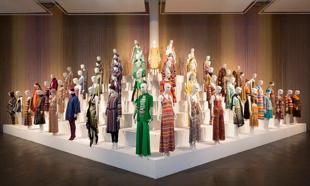 Миниатюра к статье В Лондоне завершена впечатляющая выставка «Missoni, Art, Colour»