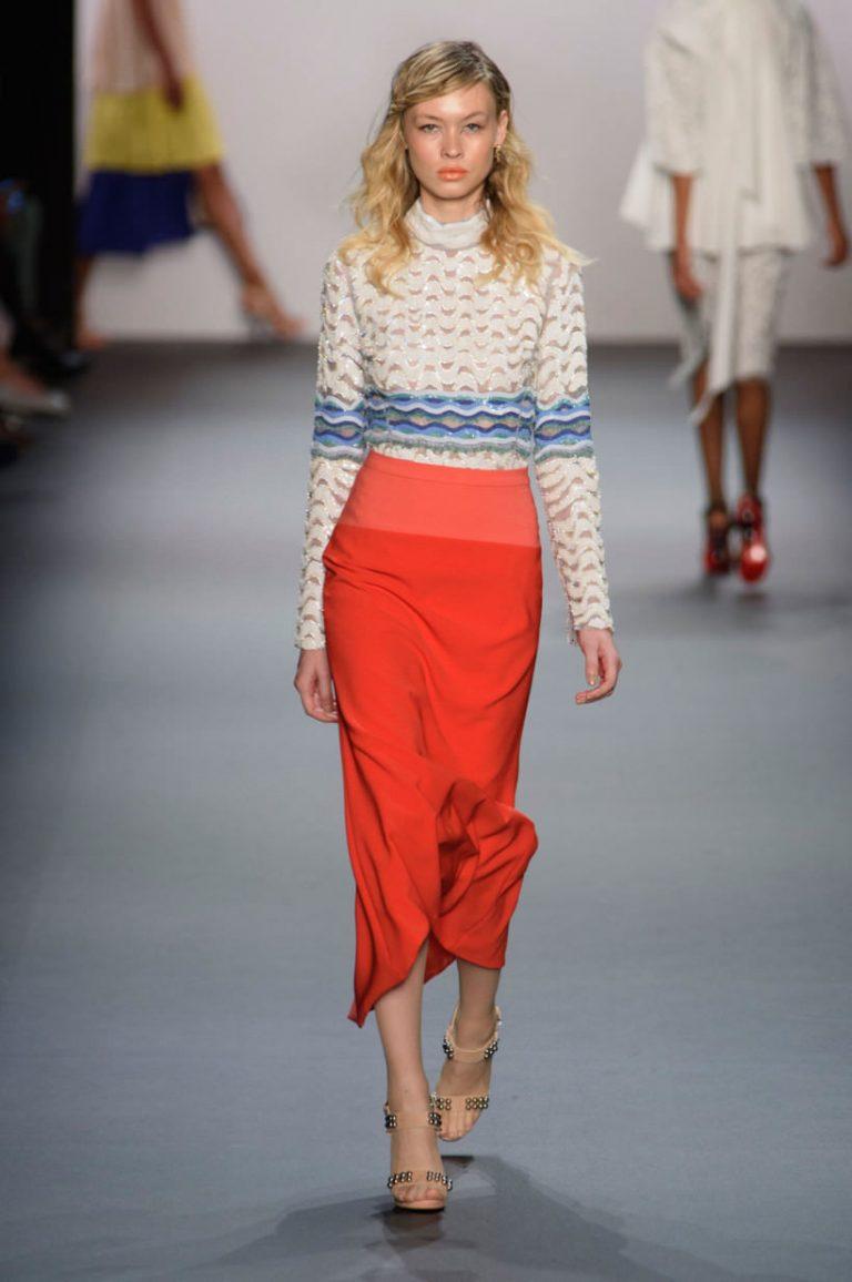 Какие юбки будут в моде в 2018 году фото